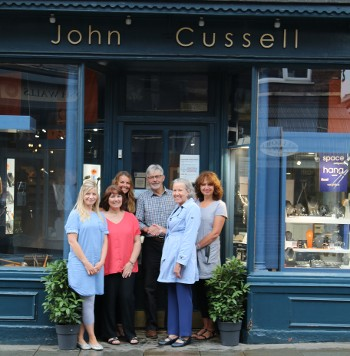 John Cussell - Gravity Fields Festival 2016 Window Dressing Competition winners