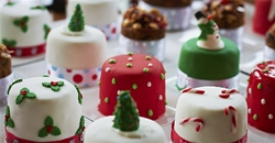 Baking hats on for the 'Great Christmas Cake Off'