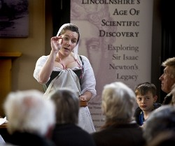 Cooks needed support for their 17th century labours, usually a pair of hefty stays, according to food historian Dr Annie Gray.