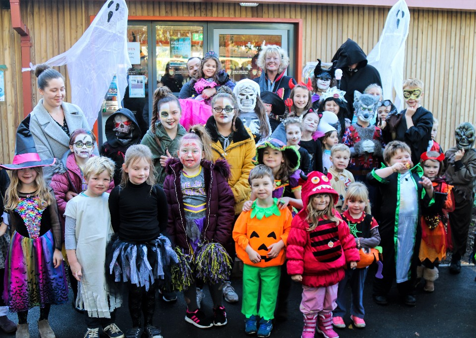 Fancy dress halloween spooktacular