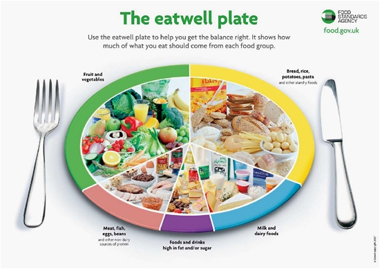 Eatwell plate Displays a larger version of this image in a new browser window