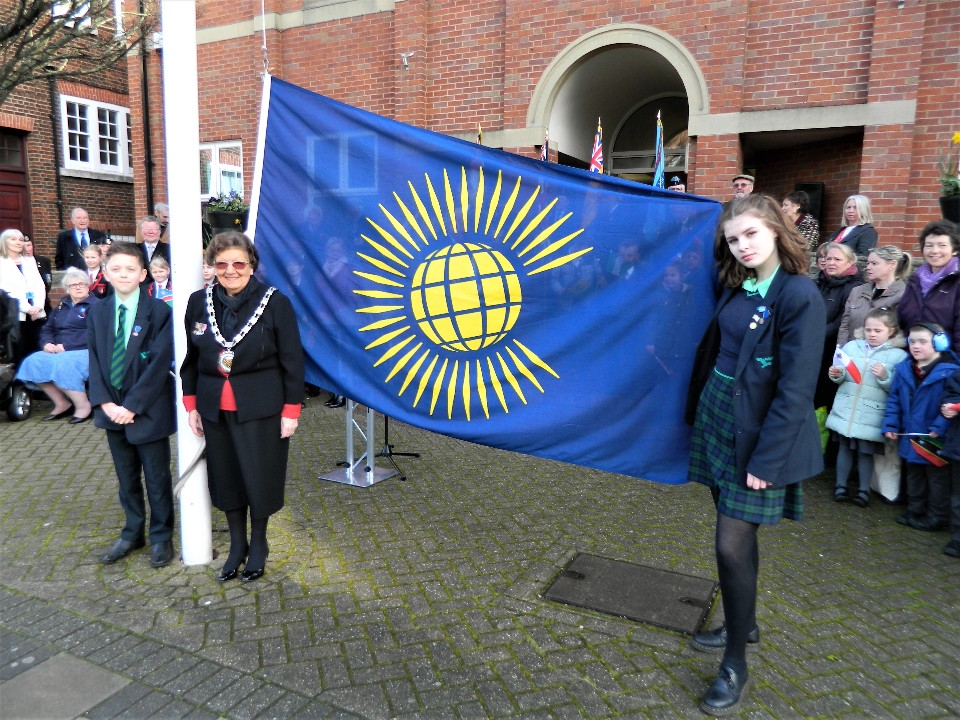 Pupils from Walton Academy at Commonwealth Day 2020