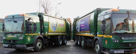 Bins, streetcare and recycling