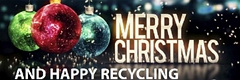 Merry Christmas and Happy Recycling