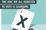 The way we all register to vote is changing