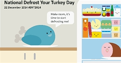 Get your turkey ready for 'National Defrost Your Turkey Day'