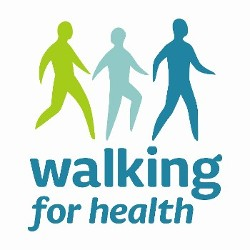 Walking for health logo